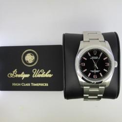 Rolex Oyster Perpetual 116000 - cadran negru