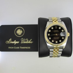 Rolex Datejust 116233 - cadran negru