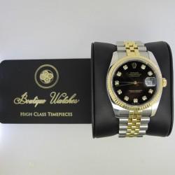 Rolex Datejust 116234 - cadran negru
