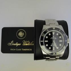 Rolex Submariner (no date) 114060 - cadran negru