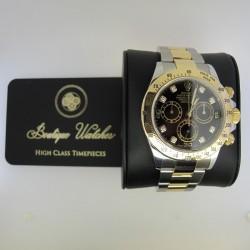 Rolex Daytona 116523 - cadran negru cu diamante