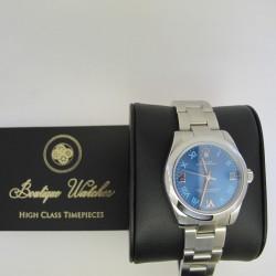 Rolex Oyster Perpetual 177200 - cadran albastru