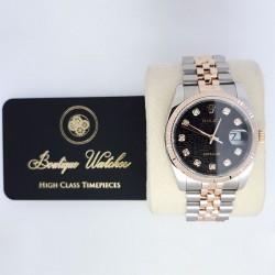 Rolex Datejust 116231 - cadran negru / diamante