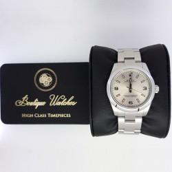 Rolex Oyster Perpetual 177200 - cadran argintiu