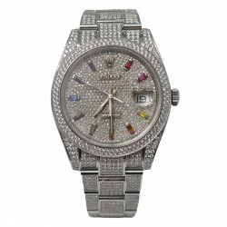 Rolex Datejust 126300 - cadran argintiu