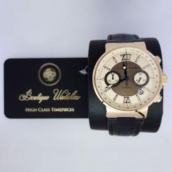 Ulysse Nardin Marine Chronograph 356-66 - cadran crem