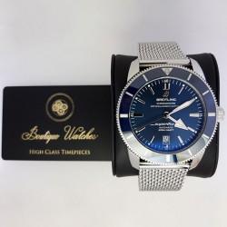 Breitling SuperOcean Heritage II 46 AB2020 - cadran albastru