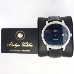 Omega De Ville Prestige 424.13.40.20.03.001 - cadran albastru