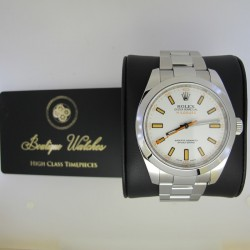 Rolex Milgauss 116400 - cadran alb