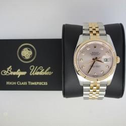 Rolex Datejust 126231 - cadran roz