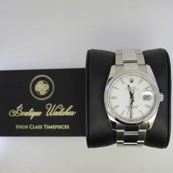 Rolex Date 115200 - cadran alb