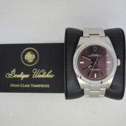 Rolex Oyster Perpetual 114300-0002 - cadran mov
