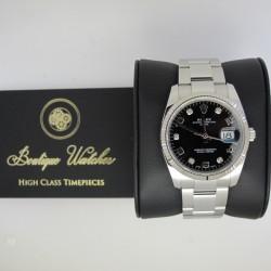 Rolex Date 115234 - cadran negru