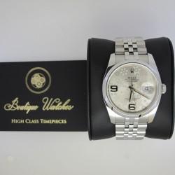 Rolex Datejust 116200 - cadran argintiu