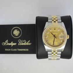 Rolex Datejust 116233 - cadran auriu