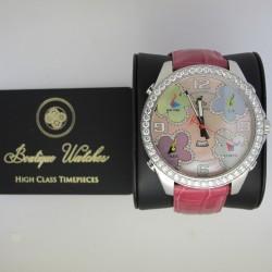 Jacob&Co. Five Time Zone Diamond Bezel 5ct - cadran roz