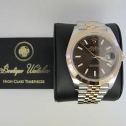 Rolex Datejust 126301 - cadran maro
