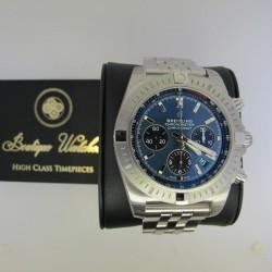 Breitling Chronomat B01 AB0115101C1A1 - cadran albastru