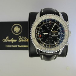 Breitling Navitimer World A24322 - cadran negru