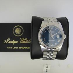 Rolex Datejust 116234 jubilee - cadran albastru