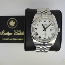 Rolex Datejust 116234 - cadran alb
