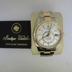 Rolex Sky-Dweller 326933 - cadran alb