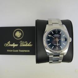 Rolex Datejust 116234 - cadran albastru