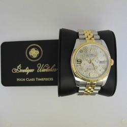Rolex Datejust 116233 - cadran argintiu/floral