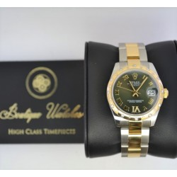 Rolex Datejust 178341 - cadran verde