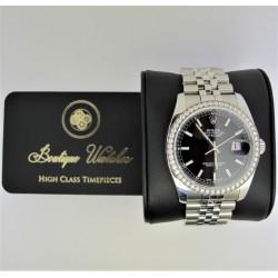 Rolex Datejust 116244G - cadran negru