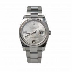 Rolex Datejust 116200 - cadran argintiu/floral