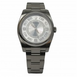Rolex Oyster Perpetual 116000 - cadran argintiu