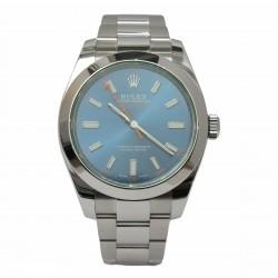 Rolex Milgauss 116400GV - cadran albastru