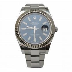 Rolex Datejust II 116334 - cadran albastru
