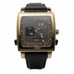 Ulysse Nardin Quadrato Dual Time Perpetual 326-90 - cadran gri