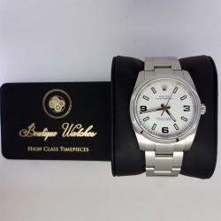 Rolex Oyster Perpetual 114200 - cadran alb