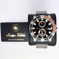 Ulysse Nardin Maxi Marine Diver 263-90-3/92 - cadran negru