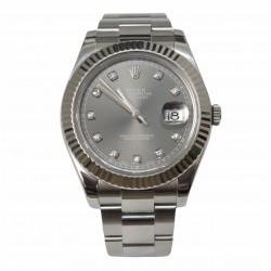 Rolex Datejust II 116334 - cadran gri