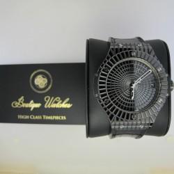 Hublot Big Bang Caviar 346.CX.1800.RX - cadran negru