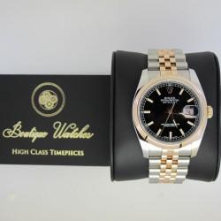 Rolex Datejust 116201 - cadran negru