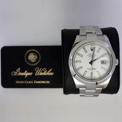 Rolex Datejust II 116300 - cadran alb