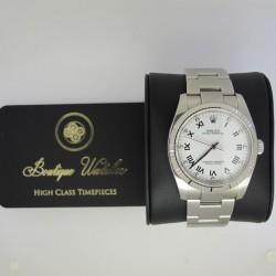 Rolex Oyster Perpetual 116034 - cadran alb